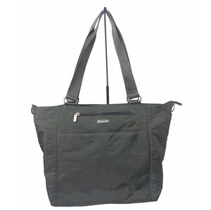 Baggallini Grey Nylon Tote Bag